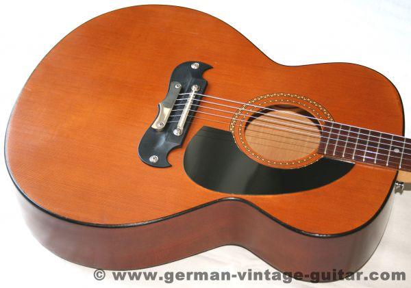 6-saitige Westerngitarre Framus Jumbo 05810 von 1974, Exportmodell