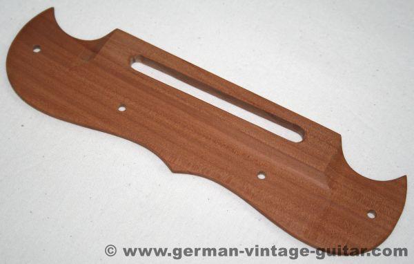 Framus Saitenhalter BIRNE, Massivholz-Nachbau, Handarbeit