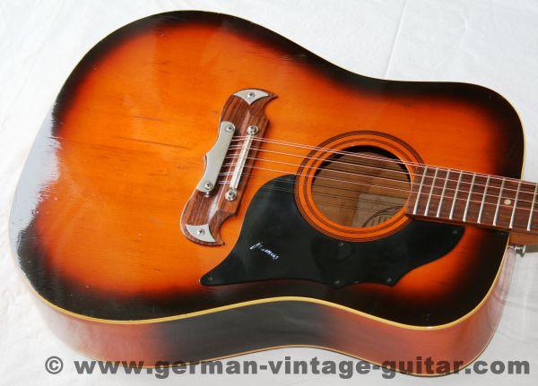 12-saitige Westerngitarre Framus Texan 06191 von 1972-74