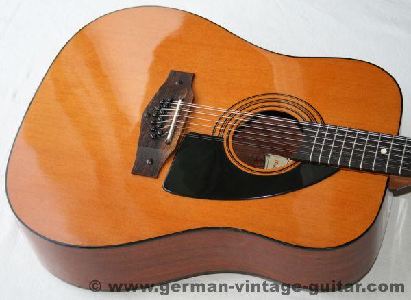 12-saitige italienische Westerngitarre Eko Rio Grande 12 von 1980