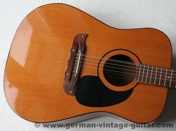 Klira 12-string Dreadnought, siebziger Jahre
