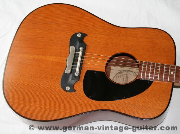 6-saitige Westerngitarre Framus Dix 05011 von 1975