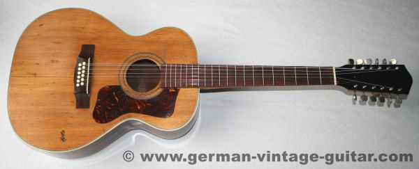 Hopf Jumbo, 12-string, ca. 1965