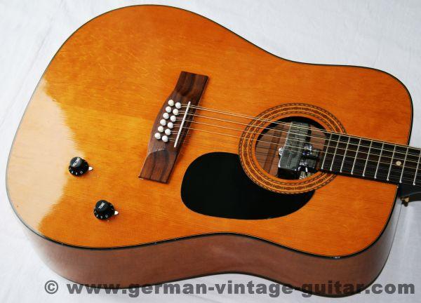 "12-saitige Westerngitarre Höfner 490 E ""Arizona"" von 1977"