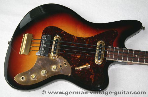Framus 5/165 -52gl Strato de Luxe Star Bass, 1965