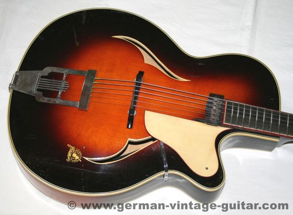 Framus Black Rose De Luxe, 1953