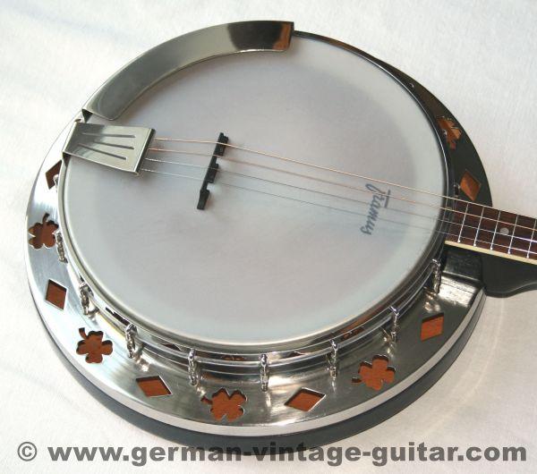 Framus Tenor-Banjo, Dixi-Sondermodell, 1962