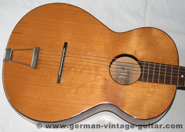 6-saitige Blues-/Parlour-/Wandergitarre Framus 5/1 Amateur von 1963