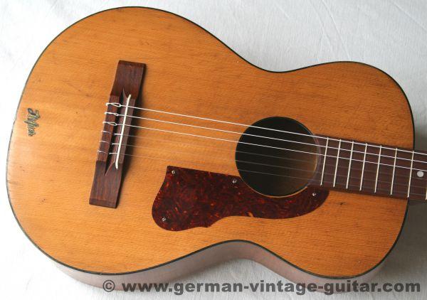 6-saitige Blues-/Parlour-/Wandergitarre Höfner 512 aus den sechziger Jahren