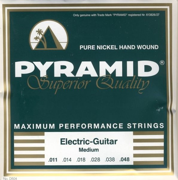 Pure Nickel Round Wound Strings, Superior, MEDIUM