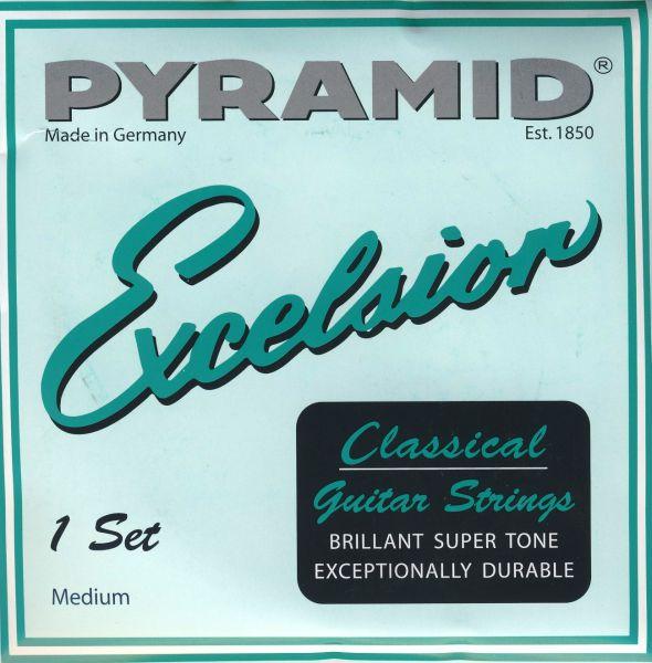 Excelsior Nylon, silberumwickelt, MITTEL
