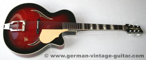 Framus 5/72 Black Rose De Luxe, 1960