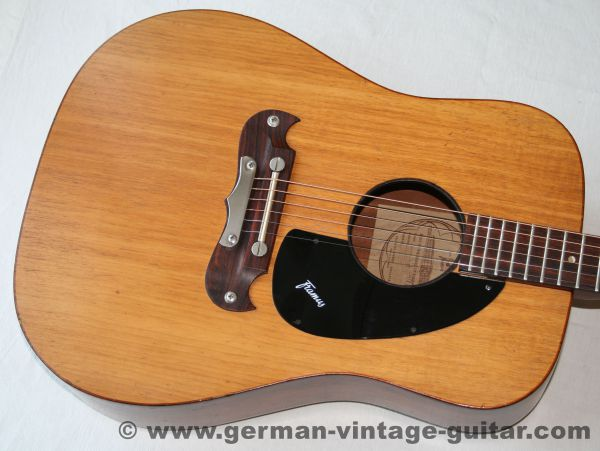 6-saitige Westerngitarre Framus Dix J-196 von 1970
