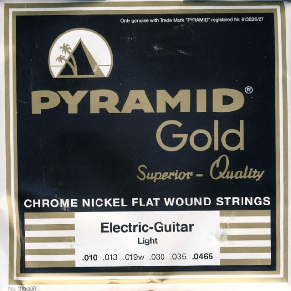 Chrome Nickel Flatwounds, Round Core, LIGHT
