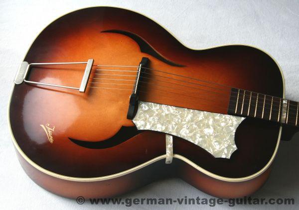 ISANA Jazzgitarre, 1958, Originalzustand