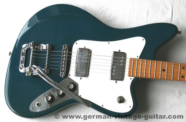 Solid-Body E-Gitarre Framus Strato 6 (10230) von 1974