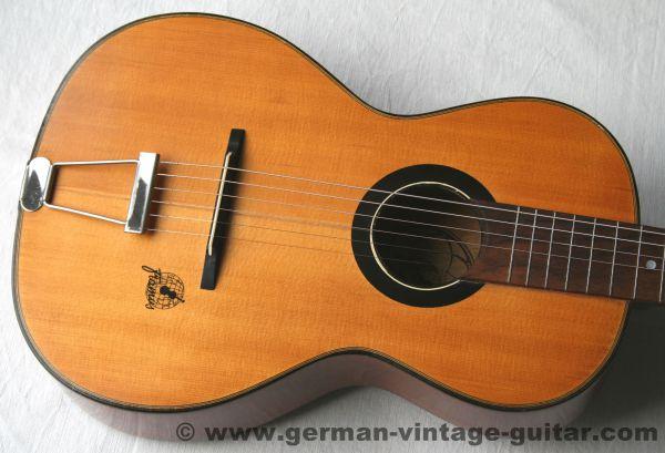 6-saitige Blues-/Parlour-/Wandergitarre Framus 5/18 Favorit von 1957