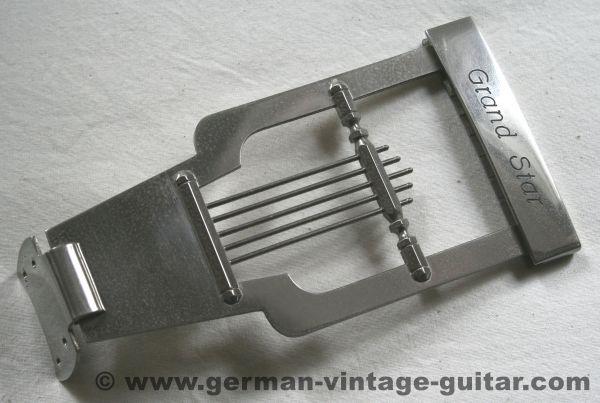 Saitenhalter Framus 5/125 Grand Star, original