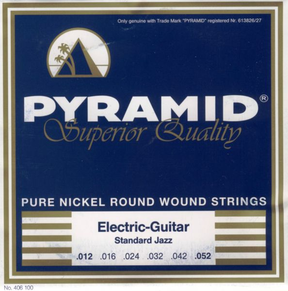 Pure Nickel Round Wound, Superior, STANDARD JAZZ