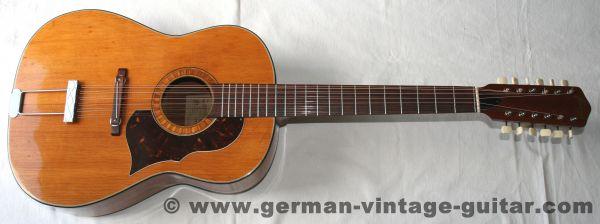 Framus 5/024 Hootenanny, 1965