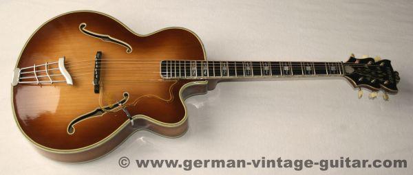 Höfner Committee Acoustic, Frondose, 1960