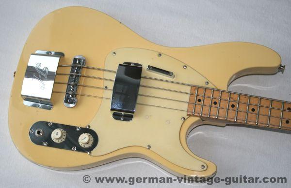 Hoyer 33, E-Bass von 1977
