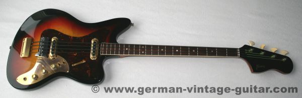 Framus 5/165-52 gl Strato De Luxe Star Bass, 1965