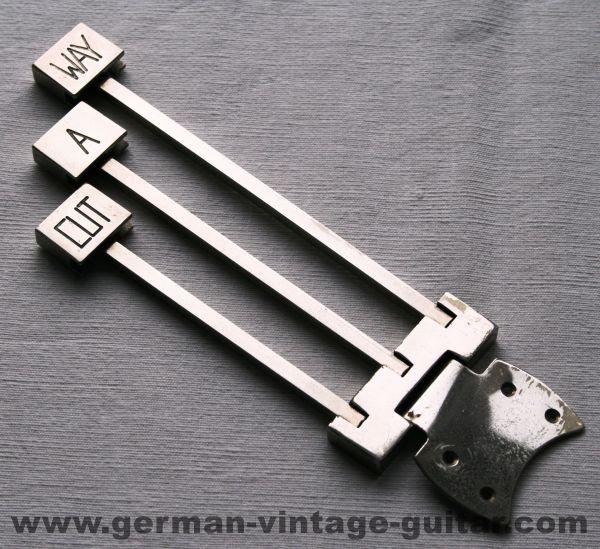 Saitenhalter Framus 5/68 Cutaway, original
