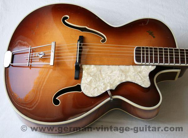 Jazzgitarre Höfner 457 S von 1957