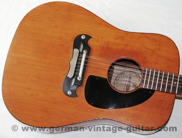 12-saitige Westerngitarre Framus Dix 06011 von 1976