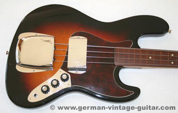 "Framus Jazz Bass ""Pastorius"" fretless, 1973"